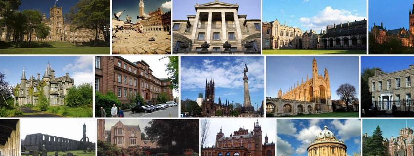英国法夫区St Andrews圣安德鲁斯大学